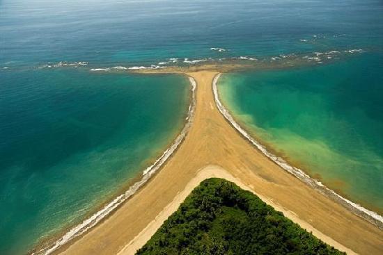 Bahia Azul Hotel: desde vista al mar en casa de amigo