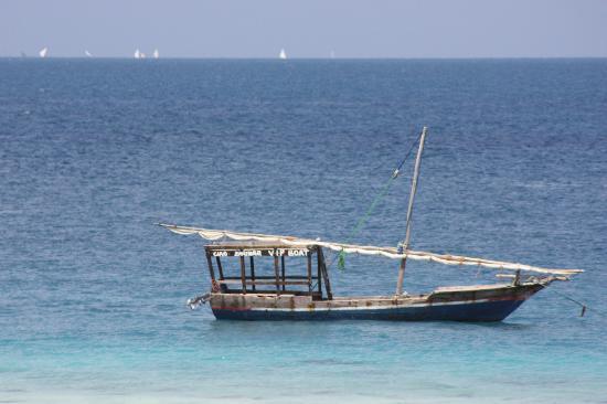 The Z Hotel Zanzibar: Aquamarine water