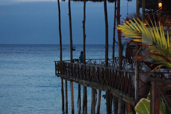 The Z Hotel Zanzibar: Dining with a priceless sunset view