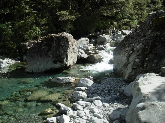 Arthur's Pass Hiking & Tranz Alpine One Day Tour: Clear Water