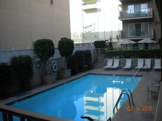 Hollywood Orchid Suites: pool