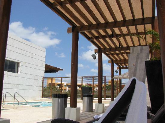 Fairmont Mayakoba: Willow Stream Spa view