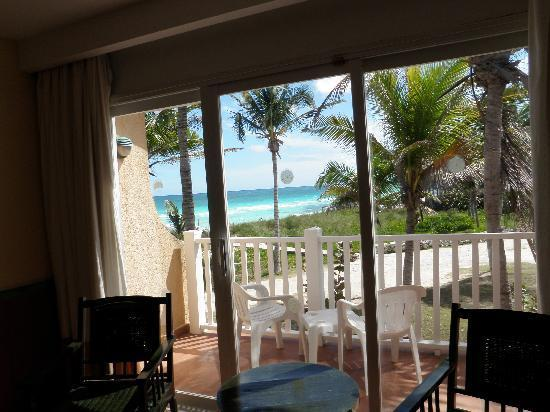 TRYP Cayo Coco: The view from our room 535
