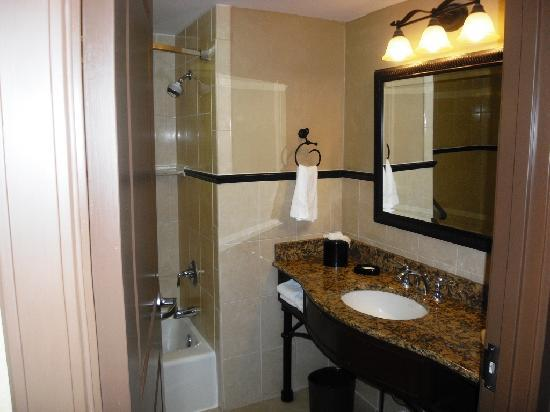 Drury Plaza Hotel San Antonio Riverwalk: Decent bathroom