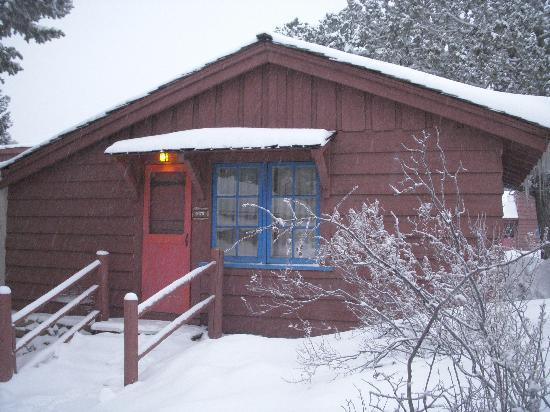 Bright Angel Lodge: The cabin