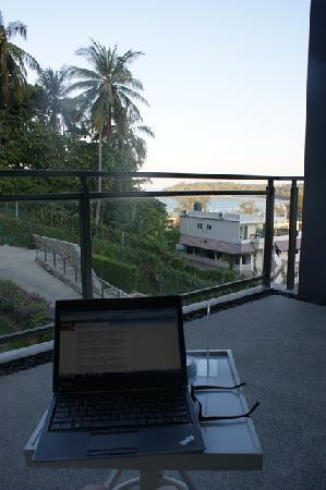 Sugar Palm Grand Hillside: Balcony View
