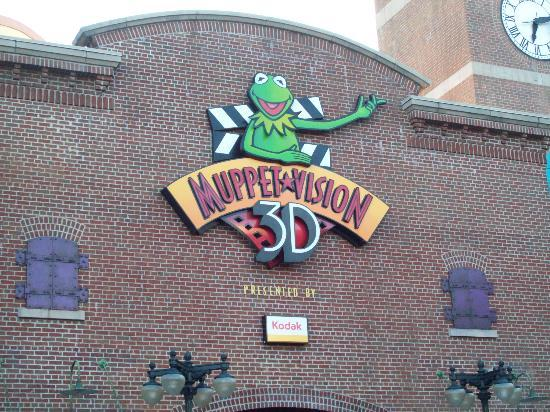 Disney's Hollywood Studios: Muppet Vision 3D