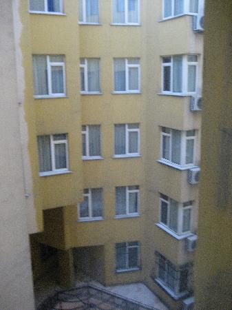 Grand Hotel Halic: view outside the open window