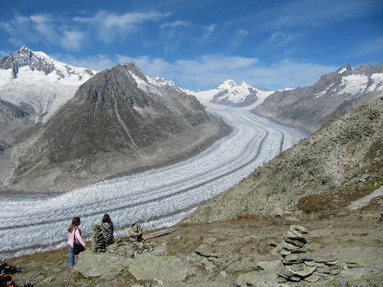 Aletsch Glacier: Autopista al cielo