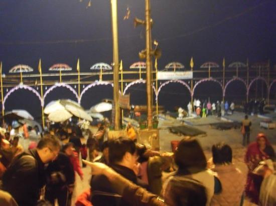 Varanasi, India: heading to Ganges River...