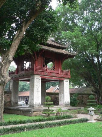 Litteraturtempelet og nasjonalt universitet: Khue Van Pavilion, Temple of Literature - Hanoi