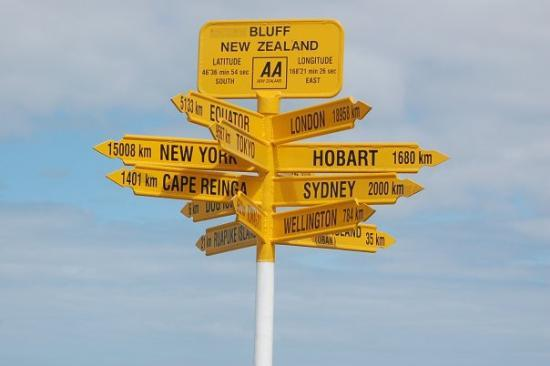 Bluff, New Zealand: A long way from nowhere
