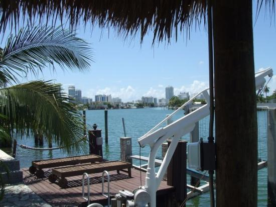North Miami Beach, Floryda: Great backyard