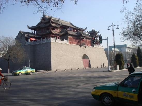 Yinchuan, Kina: Part of an old Castle!