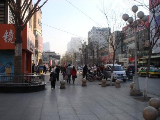 Yinchuan, Kina: More Down town