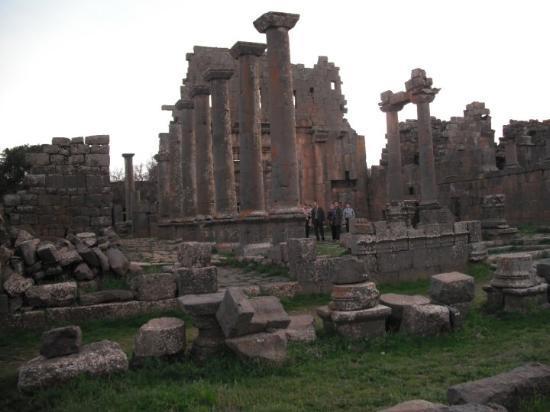 Damaskus, Syria: Ruinas ( lo siento no recuerdo donde)