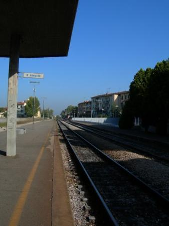 Train station in Castelfiorentino