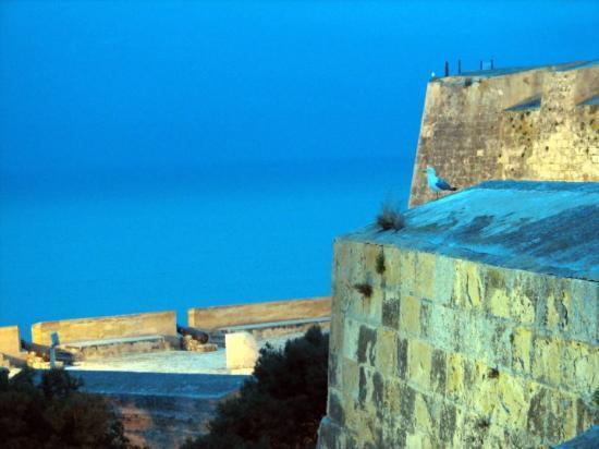 Alicante, Spain, Castillio de Santa Barbara