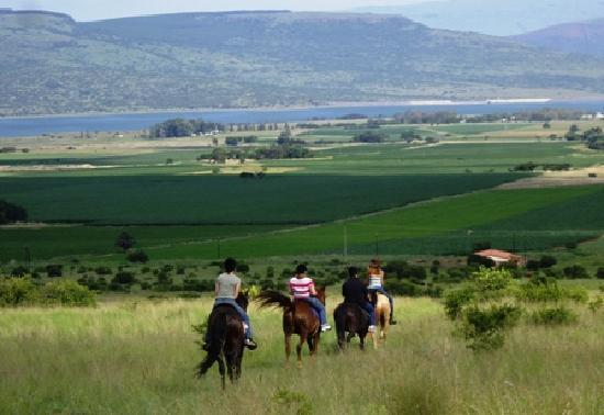 Lydenburg, Sydafrika: fantastic riding