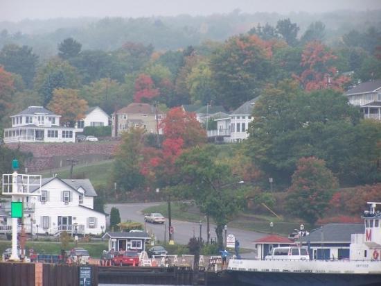 La Pointe, WI: Bayfield, WI, the ferry pier