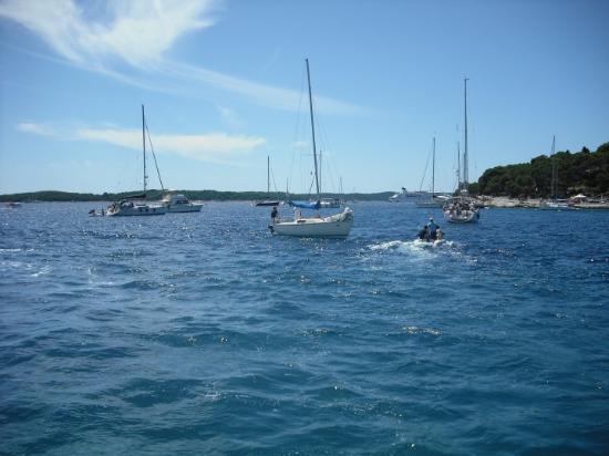 Hvar, Kroatia: Mar Adriático