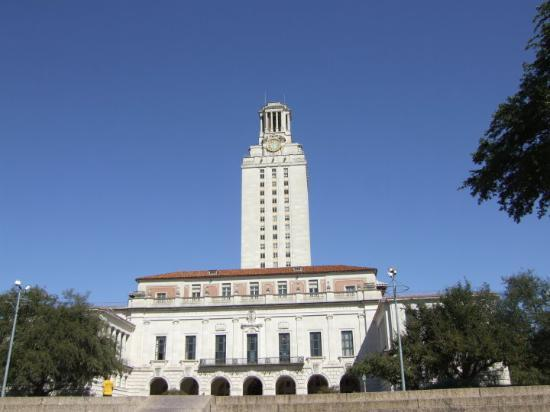 Austin, TX: Clock tower at the University of Texas.
