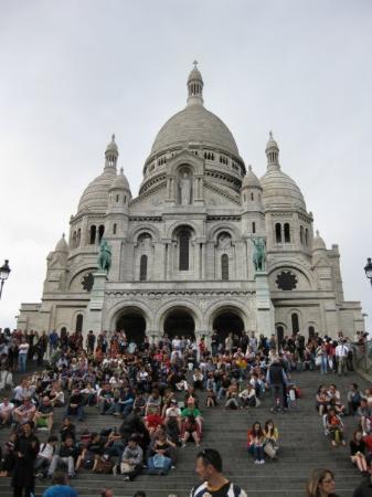 Sacre-Coeur: Sacre Coeur-my favorite thing that I saw
