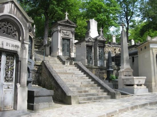 Pere-Lachaise gravlund (Cimetiere du Pere-Lachaise): Pere laChaise Cemetery