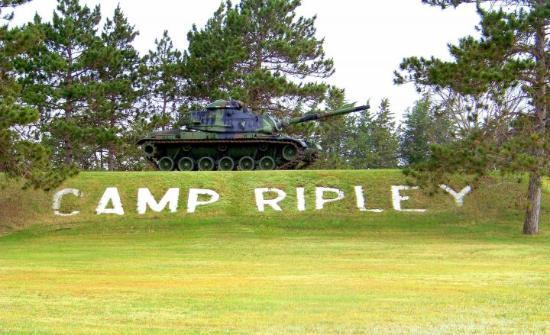 Fort Ripley, MN: Camp Ripley