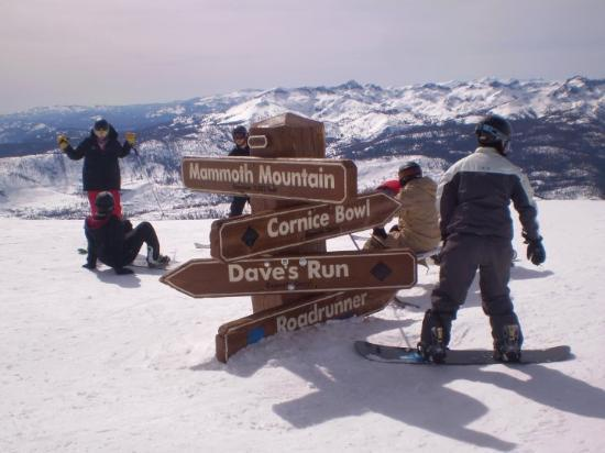 Mammoth Lakes, CA: The very top