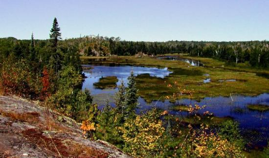 Boundary Waters Canoe Area Wilderness north of Ely