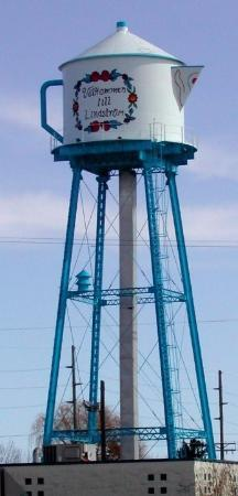 Lindstrom Water Tower