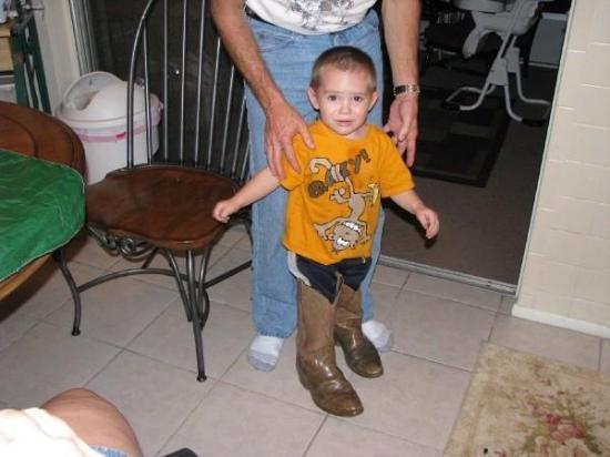 New Port Richey, FL: Carson in big boots