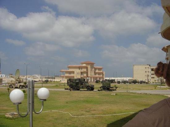 Barracks in Alexandria, Egypt  2005