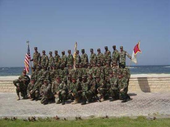 My unit in Alexandria Egypt 2005.  HHD 540th QM Bn