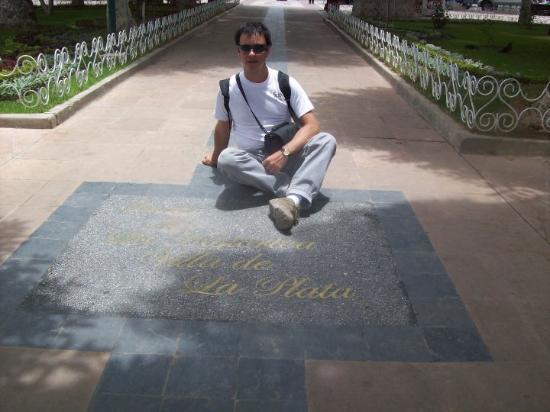 Sucre, Bolivia: Plaza 25 de Mayo.