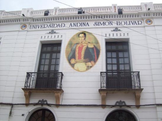Sucre, Bolivia: Universidad Andina Simón Bolívar.