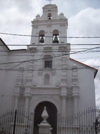 Sucre, Bolivia: Iglesia de Santa Mónica.