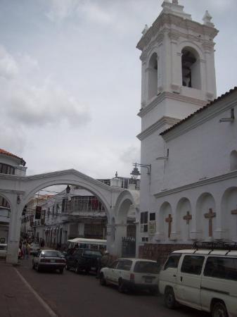 Sucre, Bolivia: Convento de los Franciscanos.