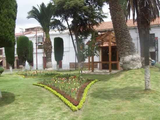Sucre, Bolivia: Plaza Libertad.