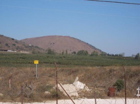 Salah, Syria: Mount Bental