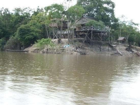 Iquitos, Peru: tree house