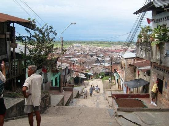 Iquitos, Peru: all those houses float when the amazon floods, no joke