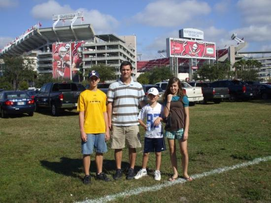 "Tampa, FL: Raymond James Stadium ""THE BUCCANEERS"" NFL football team"
