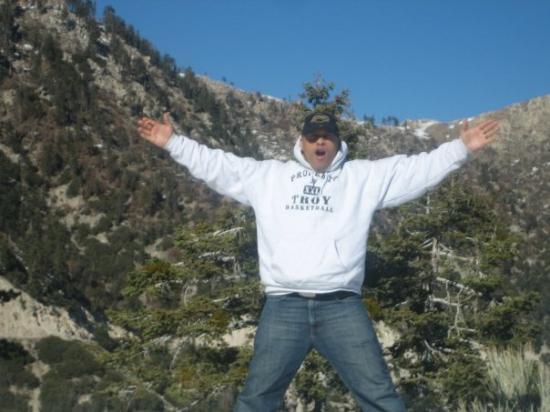 Big Bear Lake: top of the world!!