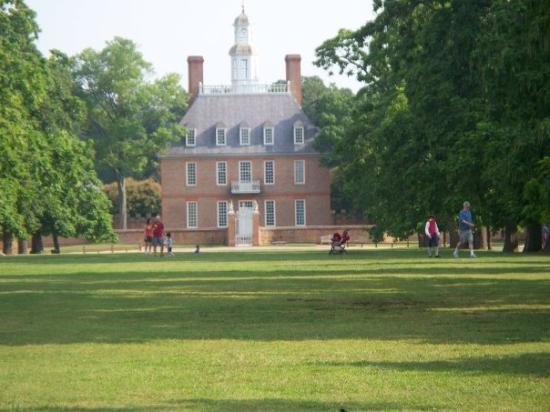 Colonial Williamsburg: park of Williamsburg