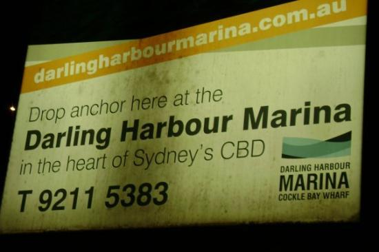 Darling Harbour: Obviously...