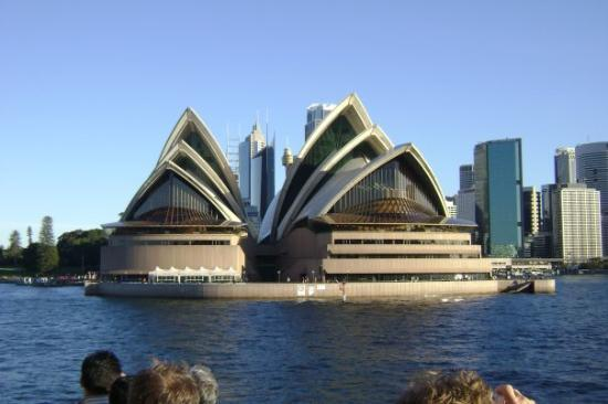 The Sydney Opera house!  Its so awesome!