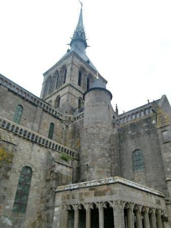 Mont-Saint-Michel, Frankrike: Mont Saint-Michel
