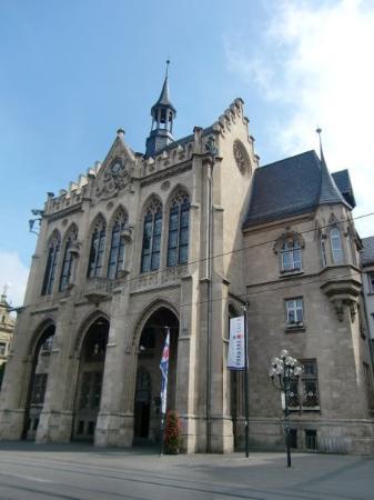 Erfurt, Tyskland: Rathaus
